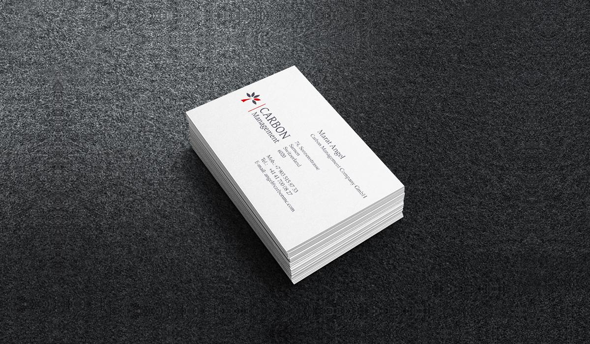 Дизайн визиток для экологической компаниия