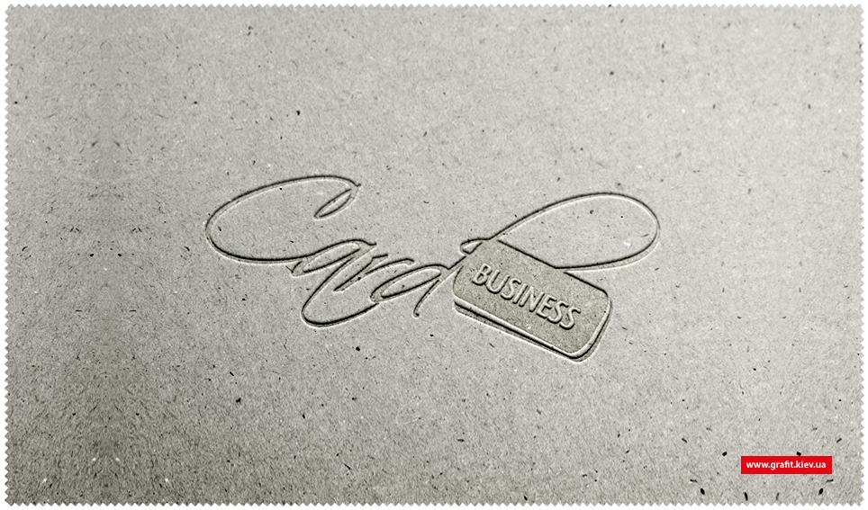Разработка логотипа Business Card